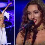 """Foto: Moldoveanca Natalia Duminică a oferit un moment incendiar de belly dance pe scena de la ,,Românii au Talent""""!"""