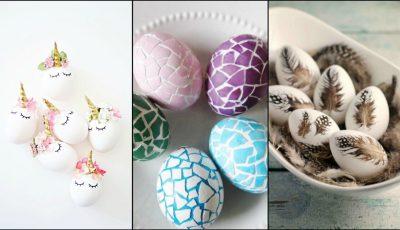 10 idei pentru decorarea ouălor de Paște
