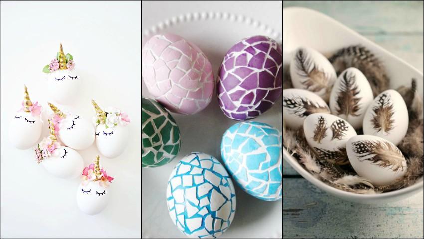 Foto: 10 idei pentru decorarea ouălor de Paște