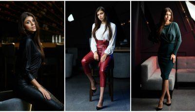 Jurnalista Ilinca Sturzescu poartă cu mult stil ținutele brandului Nikita Rinadi!