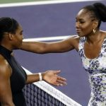 Foto: Serena Williams a fost învinsă de sora ei la Indian Wells. Video!