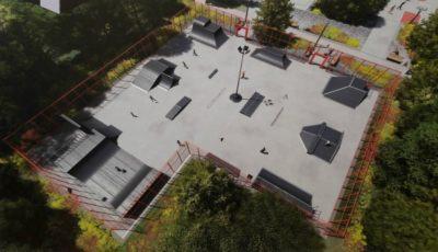 """În parcul ,,Valea Trandafirilor"""" va fi construit un skatepark. Iată cum va arăta!"""