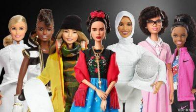 Barbie a lansat 17 păpuși noi inspirate din femei reale și influente!