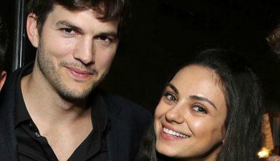 Adorabil! Au apărut primele imagini cu fiul Milei Kunis și al lui Ashton Kutcher