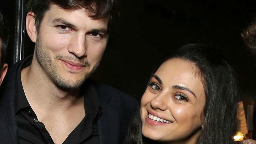 Foto: Adorabil! Au apărut primele imagini cu fiul Milei Kunis și al lui Ashton Kutcher
