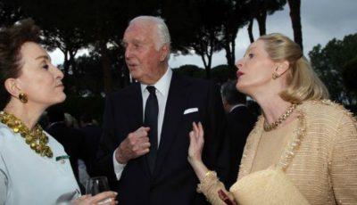 Celebrul designer de modă Hubert de Givenchy s-a stins din viață