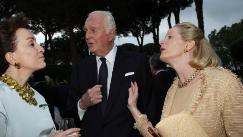 Foto: Celebrul designer de modă Hubert de Givenchy s-a stins din viață