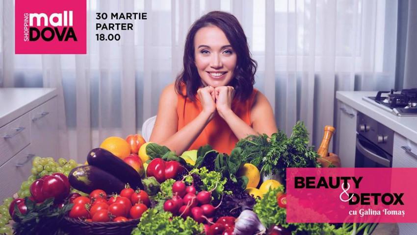 """Foto: Shopping MallDova te invită la seminarul gratuit """"Beauty&Detox""""! Află totul despre frumusețe și detoxifiere"""