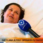 Foto: Svetlana Cveatcovscaia a fost operată cu succes! Vezi cum arată acum