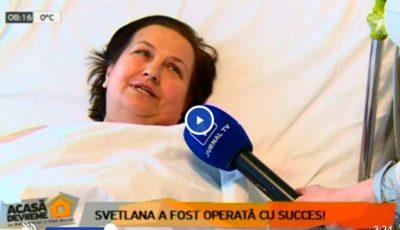 Svetlana Cveatcovscaia a fost operată cu succes! Vezi cum arată acum
