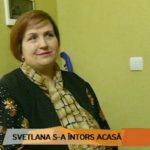 Foto: După șase luni de proiect, Svetlana Cveatcovscaia s-a întors acasă cu o siluetă nouă