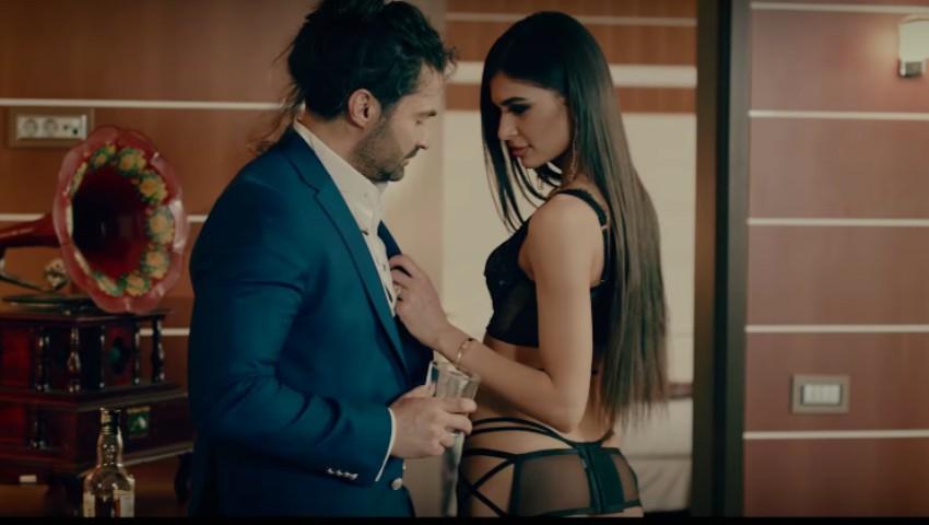 Foto: Scene fierbinți! O moldoveancă joacă rolul principal în cel mai nou videoclip al lui Pepe