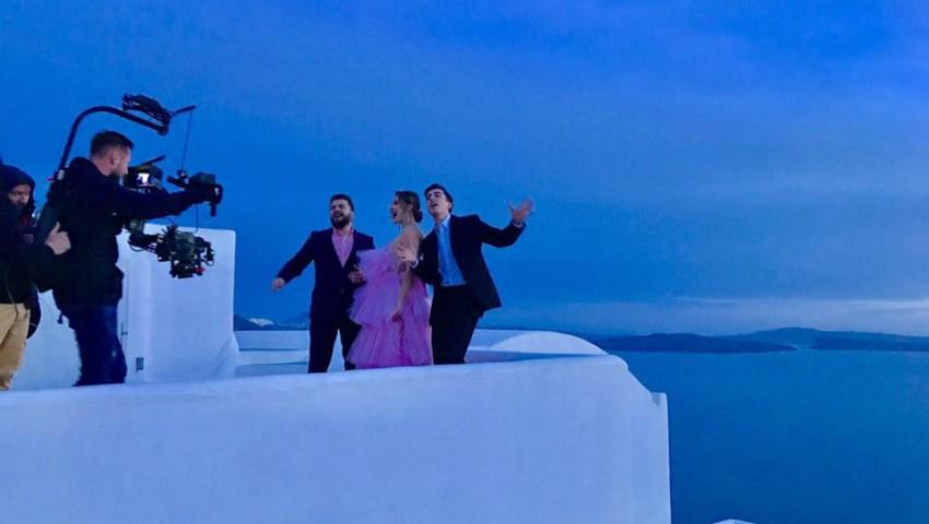 """Foto: Trupa DoReDos a început filmările pentru videoclipul piesei """"My lucky day""""!"""