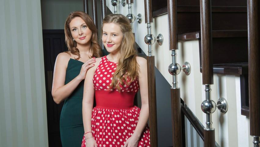 Foto: Cu drag de mamă: Anastasia Botnari, fiica Nataliei Botnari, studentă