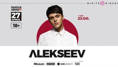 Îndrăgitul artist din Ukraina, Alekseev vine la Chișinău! Va fi un show incendiar