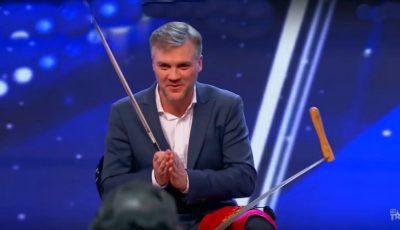 "Video! Un moldovean a obținut patru de ,,DA!"" la ,,Portugalia are Talent"""