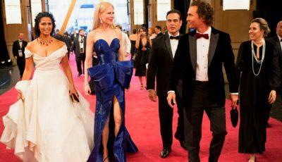Premiile Oscar 2018: o actriță a venit îmbrăcată în aceeași rochie pe care a purtat-o și la gala din 1962