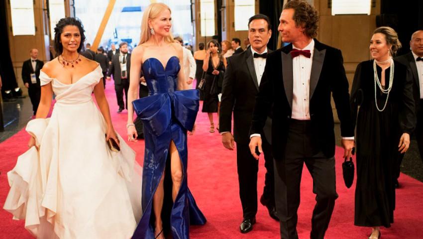Foto: Premiile Oscar 2018: o actriță a venit îmbrăcată în aceeași rochie pe care a purtat-o și la gala din 1962