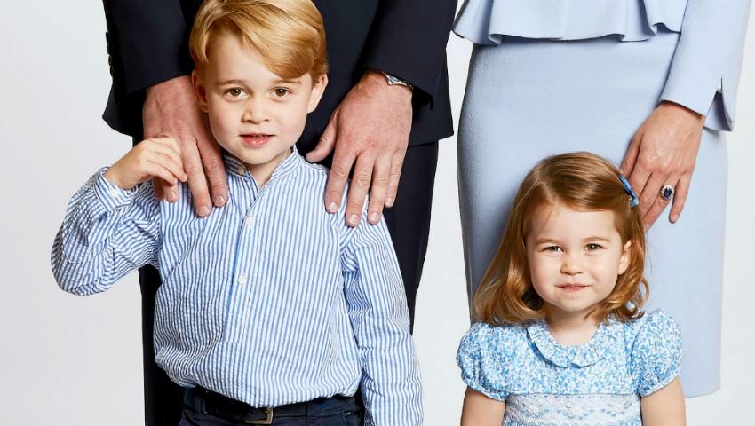 Un designer moldovean creează ținute pentru Prințul George și Prințesa Charlotte! Iată cum arată costumele