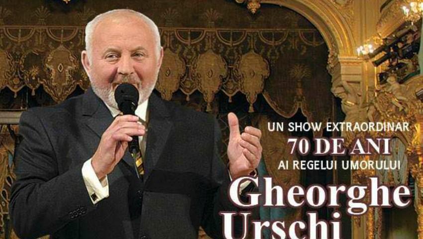 """Foto: Pe 1 aprilie, Maestrul Gheorghe Urschi va fi aniversat la Palatul Național ,,Nicolae Sulac""""!"""