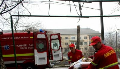 O moldoveancă internată într-un spital din Italia a fost adusă acasă cu un echipaj SMURD