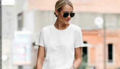 Cum purtăm tricoul alb! Inspiră-te din ținutele celebrităților