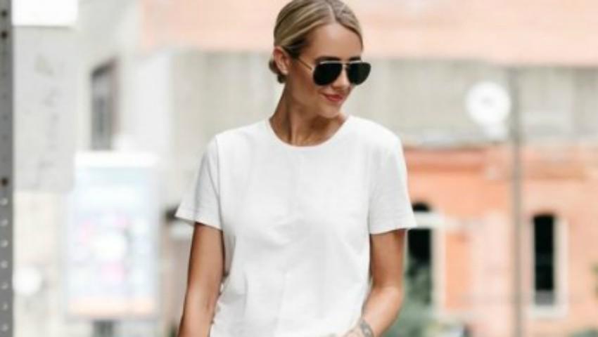 Foto: Cum purtăm tricoul alb! Inspiră-te din ținutele celebrităților