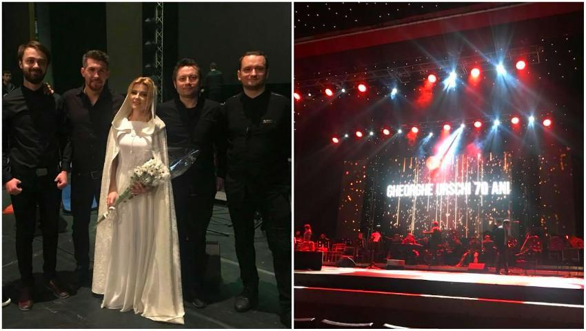 """Foto: Mariana Mihăilă a interpretat piesa ,,Mama la străini muncește"""", împreună cu Maestrul Gheorghe Urschi! Video"""