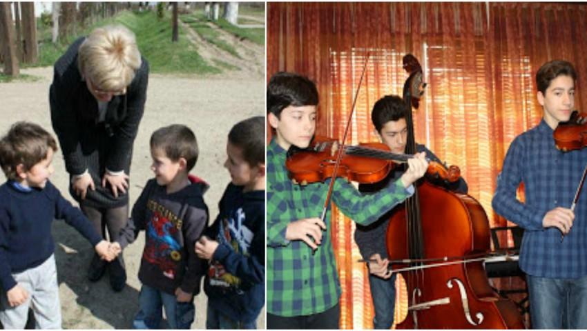 Foto: Au adoptat trei frați și i-au ajutat să devină olimpici la muzică! Povestea unui cuplu care timp de opt ani nu a putut avea copii