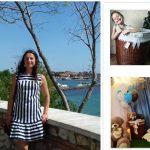 Foto: Iana Bețișor, despre pasiunea vieții sale! Creează manual coșulețe din hârtie de ziar