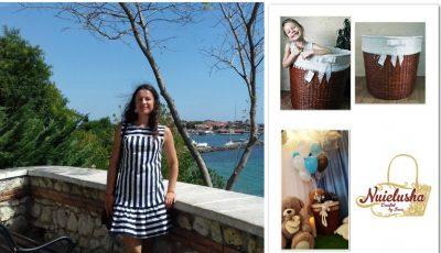 Iana Bețișor, despre pasiunea vieții sale! Creează manual coșulețe din hârtie de ziar