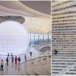Foto: China a deschis cea mai modernă bibliotecă din lume. Video!