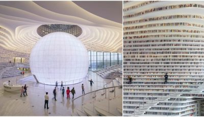 China a deschis cea mai modernă bibliotecă din lume. Video!