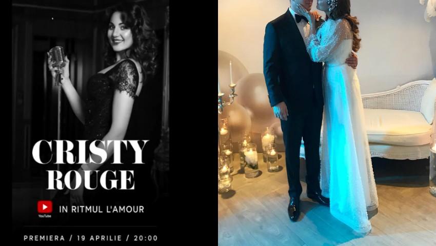 Cristy Rouge a lansat o piesă de dragoste, în ziua în care a fost mireasă!