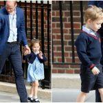 Foto: Foto. Prințul George și Prințesa Charlotte și-au cunoscut frățiorul