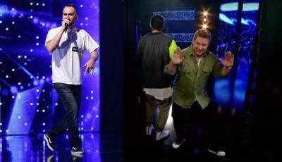 """Video! Un tânăr din Drochia și-a încercat norocul la ,,Românii au Talent"""""""