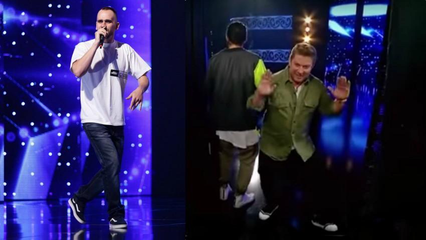 """Foto: Video! Un tânăr din Drochia și-a încercat norocul la ,,Românii au Talent"""""""