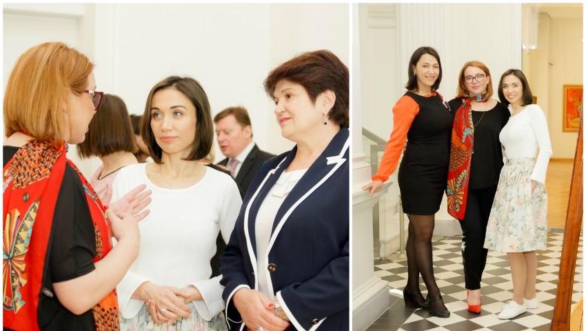 """Foto: Galina Tomaș a participat la evenimentul organizat de AGEPI cu genericul """"Puterea schimbării: Femeile în domeniul inovării și creativității"""""""