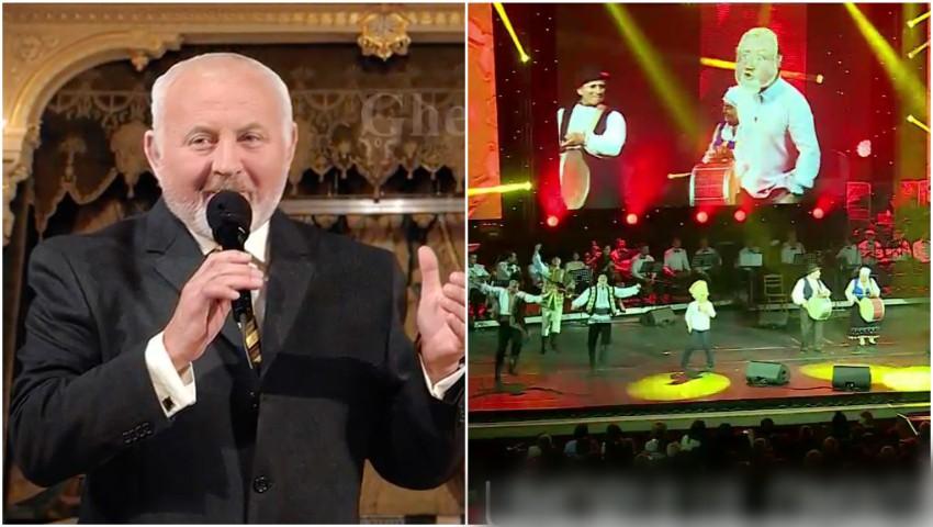 """Foto: Maestrul Gheorghe Urschi a fost omagiat aseară la Palatul Național ,,Nicolae Sulac"""""""