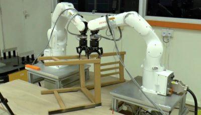 În pas cu tehnologiile moderne! Roboții au învățat să asambleze mobilier de la IKEA