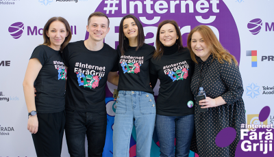 Proiectul #InternetFărăGriji a fost lansat cu succes