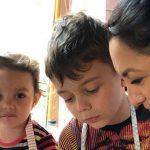 Foto: Andra și-a adunat familia în jurul ei și a încercat să respecte cu sfințenie o tradiție de Paște