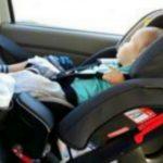 Foto: Un moldovean a ajuns pe mâna poliției după ce și-a lăsat copilul singur în mașină