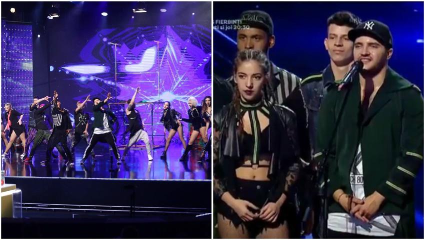 """Foto: Video! Dansatorii trupei ,,Black & White"""" au făcut spectacol pe scena de la ,,Românii au Talent"""""""