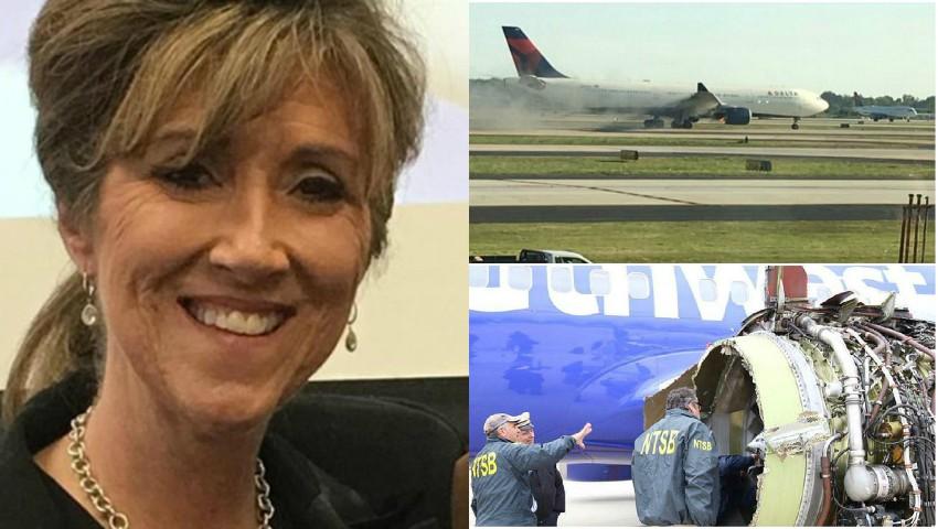 Eroină! Această femeie a adus la sol avionul cu 149 de oameni, după ce un motor a explodat la 11 km înălțime