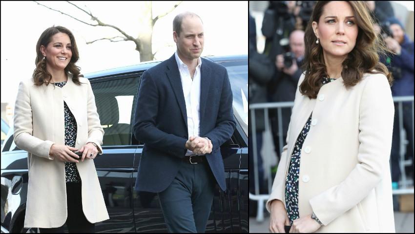 Kate Middleton a fost internată, astăzi, la spitalul St. Mary din Londra!