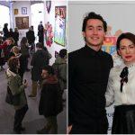 Foto: Picturile tânărului artist basarabean Constantin Botezat au cucerit publicul portughez