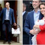 Foto: Mama și fratele Ducesei de Cambridge au venit să își vadă nepotul