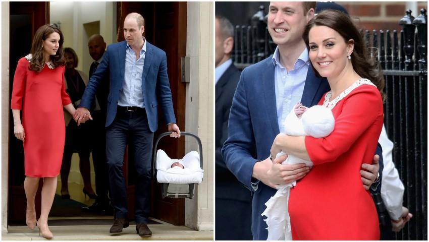 Mama și fratele Ducesei de Cambridge au venit să își vadă nepotul