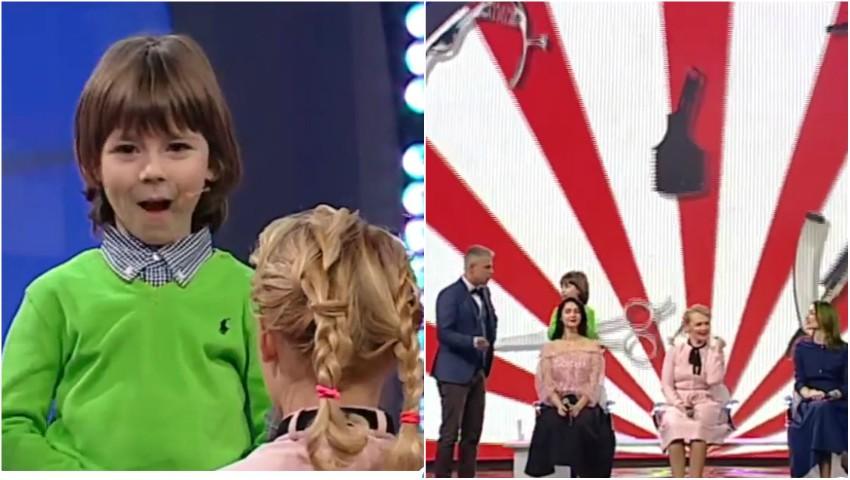 """Are 5 ani, dar e deja stilist! Un băiețel din Chișinău a făcut furori la show-ul ,,Круче всех"""" din Ucraina"""